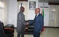 Adama Dieng rencontre les responsables burundais