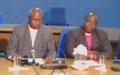 Appel des églises catholique et protestante du Burundi