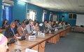 MENUB's mandate analyzed with the Burundian authorities and diplomats