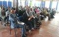 Le Chef de la MENUB rencontre les partis politiques, les jeunes et les médias