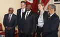 Le Conseil de sécurité en visite au Burundi