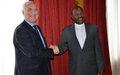 Burundi : l'envoyé de l'ONU insiste auprès du Président sur la nécessité d'un dialogue politique